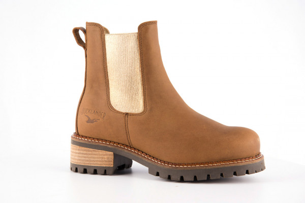 Ducklander Boots Tabaco / Gold, Stiefeletten