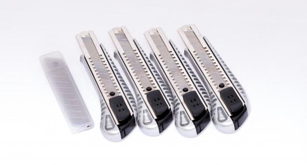 Cuttermesser - Teppichmesser - Set